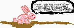 RABISCOS ENQUADRADOS: QUADRINHO PASCOAL... DIGO CASUAL