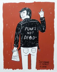 'Punks Not Dead' by Ryan Duggan