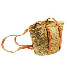 Straw Tote/Backpack