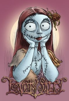 *LOVELY SALLY ~ The Nightmare Before Christmas..by Pedro Astudillo