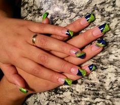 Seahawks Nails