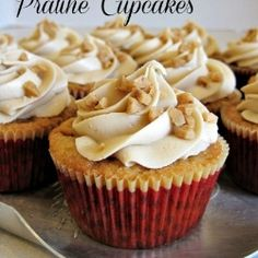Praline Cupcakes by LadyBehindTheCurtain