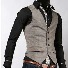 This is a great look for men's business casual in the office space. This look is most ideal for creatives.
