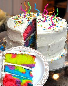 TIE-DYE CAKE   karen s. dilbeck