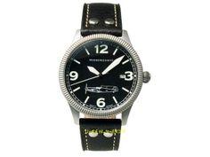 Online Shop für 24 Stunden Uhren - Fliegeruhren - Chronographen - Automatikuhren - Trenduhren - Messerschmitt ME 109-42S Me 109, Accessories, 24 Hour Clock, Pointers, Leather Cord, Stainless Steel, Jewelry