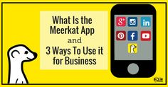 What Is the Meerkat App and 3 Ways To Use it for Business