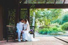 Rancho Santa Ana Botanic Gardens Wedding In Claremont California