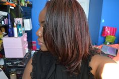 Red Hair Don't Care: Red Dye on my Natural Hair