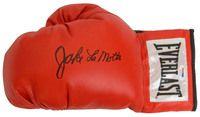 Jake Lamotta Signed Everlast Boxing Glove