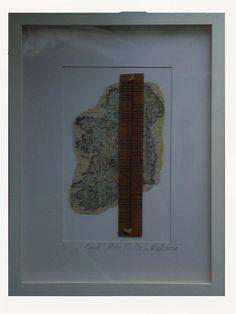Cead Mile Failte =Hundreds of Welcomes 35 cm x 46 cm white box frame Elm www.carmencelticjourney.blogspot.ie