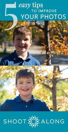 5 Easy Tips to Improve Your Photos | ShootAlong