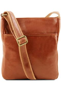 (This is an affiliate pin) Tuscany Leather Jason Leather Crossbody Bag Honey Satchel Purse, Leather Crossbody Bag, Leather Purses, Leather Skirt, Concealed Carry Purse, Slim Wallet, Tommy Hilfiger Women, Pebbled Leather, Messenger Bag