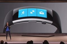 Curved new Microsoft Band blends sensor-laden hardware with cloud-based smarts