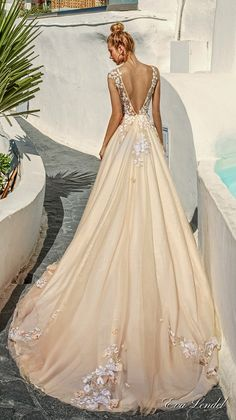 Wedding Dresses 2017 - Santorini Collection via Eva Lendel