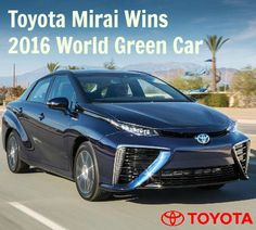 """Just as Prius changed the world nearly 20 years ago, the hydrogen-powered Mirai is ready to make history,"" said Bill Fay, group vice president and general manager, Toyota Division.  ""With a range of over 300 miles per tank, a refueling time of under five minutes, and emissions that consist only of water vapor, Mirai is leading the world forward toward a more sustainable future."""