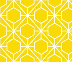 Pretty Web Sunshine Ground fabric by honeyhttp://www.spoonflower.com/wallpaper/1699803