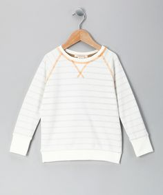 Take a look at this White Stripe Jack Thermal - Toddler on zulily today!
