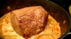 Rezept: Einfaches Sonntagsessen - Rinderbraten mit viel Soße