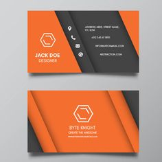 Best Business Cards 2019 81 Best Visiting Card Designs   byteknightdesign.images in