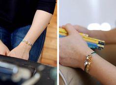 "Bracelet ""Star"" and ""Cluster"" Les Intemporels Mulot B. © Virginie Sannier 2015"