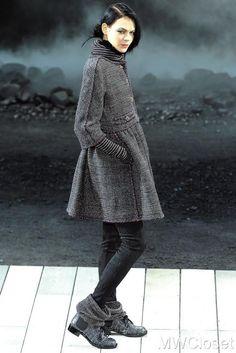 10K Chanel 11A Classic Tweed Coat Jacket Dress 36 Fall Winter 2011 NEW Rare #Chanel #BasicCoat