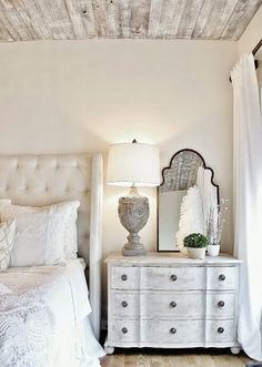 French Country Bedroom Kathy Kuo Home More White Rustic Bedroom, French  Bedroom Decor, French