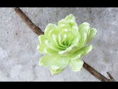 ABC TV | How To Make Campanula Glomerata Paper Flower From Crepe Paper - Craft Tutorial - YouTube