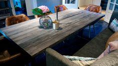 Vårt spisebord 1862 laget av materiale fra SS Norway