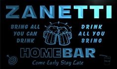 AdvPro Name q49589-b ZANETTI Family Name Home Bar Beer Mug Cheers Neon Light Sign Great Gift for your dearest! Excellent for displaying in shops, bars, pubs, clubs, restaurants, game rooms and anywhere you like. With nearly 20 years of experience, ADV (Barcode EAN = 5053711495578) http://www.comparestoreprices.co.uk/december-2016-5/advpro-name-q49589-b-zanetti-family-name-home-bar-beer-mug-cheers-neon-light-sign.asp