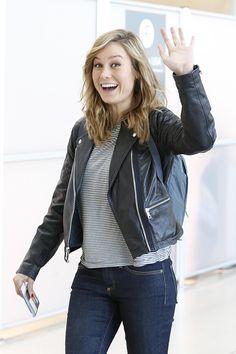 6 Times Brie Larson Was a Real-Life Superhero - Celebrities Female Brie Larson, Hottest Female Celebrities, Celebs, Susanoo Naruto, Captain Marvel Carol Danvers, Je T'adore, Flowy Pants, Alison Brie, Hot Actresses