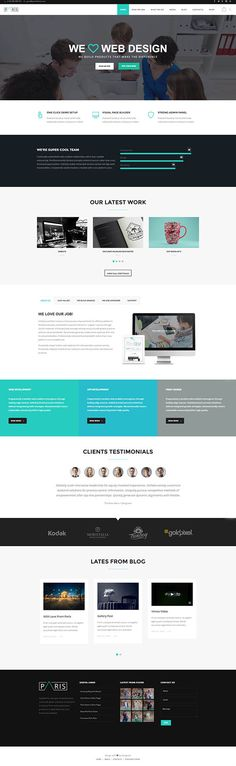 Viral Blog - Viral Magazine/News and Personal Blog PSD Design