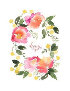 цветы акварель png - Поиск в Google