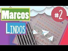 ideas como hacer MARGENES LINDAS # 2 💎  Sarish - YouTube