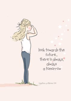 There is Always a Tomorrow Arto for Girls by RoseHillDesignStudio