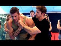 KRAV MAGA TRAINING • Side choke defense - YouTube