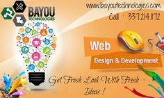 Grow your business with best web design support from expert designers.Bayou Technologies can help you get your business online. To learn more information,Visit us today!