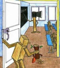 Our education system in a picture...