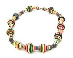 Urban Kinetics: Wonderfully Layered Felt Jewelry by Meiri Ishida