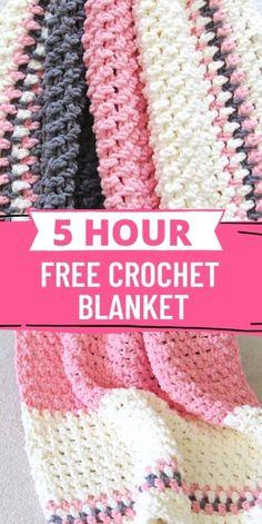 Crochet Baby Blanket Free Pattern, Afghan Crochet Patterns, Crochet Stitches, Crocheted Afghans, Easy Crochet Baby Blankets, Crochet Symbols, Baby Patterns, Diy Crochet, Crochet Crafts