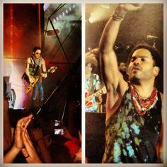 Rock in Rio Lisboa 2012 hey Lenny :)