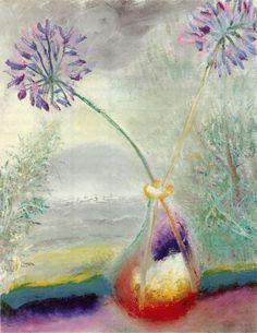Two Agapanthus | Winifred Nicholson
