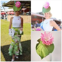 Winning Style!!! Penny wearing a @peacockmillinery headpiece taking out the overall win for FOTF today at the Darwin Cup! Love the colour combo and that dragonfly brooch!!!! #millinery #fotf #darwincup #fashionattheraces #fashionsonthefield #winterracing #springracing