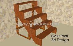 "5 step Golu padi (Navratri steps)... with the ""You can make it yourself"" steps :)"
