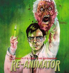 Re Animator Horror Movie Zombies