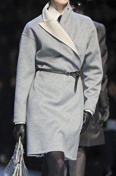 .gray coat.             t