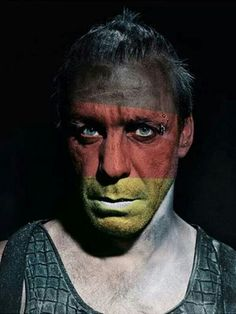 Rammstein - Made in Germany, Till Great Bands, Cool Bands, Rammstein Till Lindemann, Face Reference, Cover Art, Cool Photos, Photography, Male Faces, Realism Tattoo
