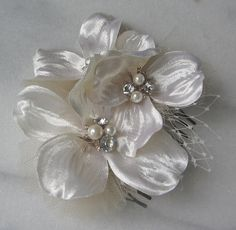 hair flower diy inspire