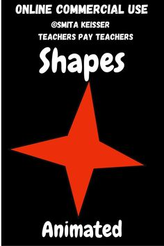 Simple Basic Shapes Animated GIFWorks great in Boom Card Creations!Thank you for your interest in my Designs. DIGITAL SCREEN AND/OR ANIMATED VERSION INFO:Digital/Web/Animated Clip Art are for Paperless Resources Only.I have created these clip arts for screen usage only. · Low resolution.· Not for pr... Education Clipart, Digital Web, Basic Shapes, Task Cards, Animated Gif, My Design, How To Draw Hands, Encouragement, Clip Art