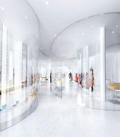 SANAA: derek lam flagship store preview