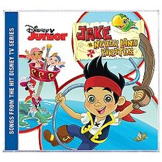 Jack and the Never Land Pirates Soundtrack CD